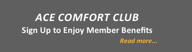 ACE COMFORT CLUB sidebar