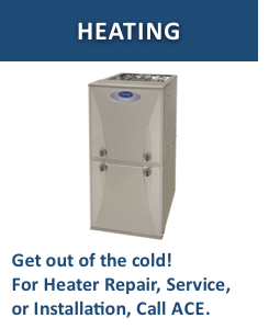 Heating heading box